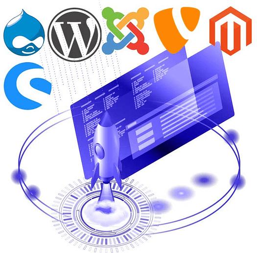 CMS und Webshop Hosting