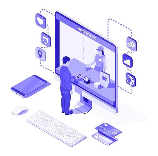 CMS Onlineshop Design